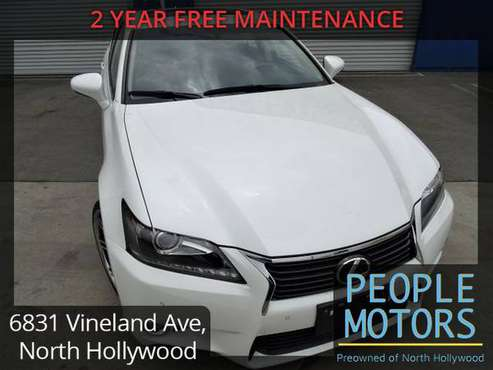 2014 Lexus GS - Financing Available To Anyone With Any Type Of Id Cash for sale in North Hollywood, CA