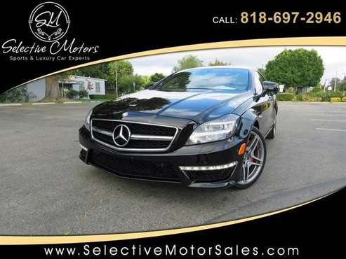 2013 Mercedes*Benz CLS*63 *AMG* - *WHITE*Interior *CLS63* CLS*Class for sale in Van Nuys, CA