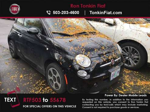 2016 Fiat 500e Battery Electric Hatchback for sale in Portland, OR