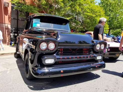 1958 Chevy truck Chevrolet GMC Apache hot rod restored PERFECT for sale in Novato, CA