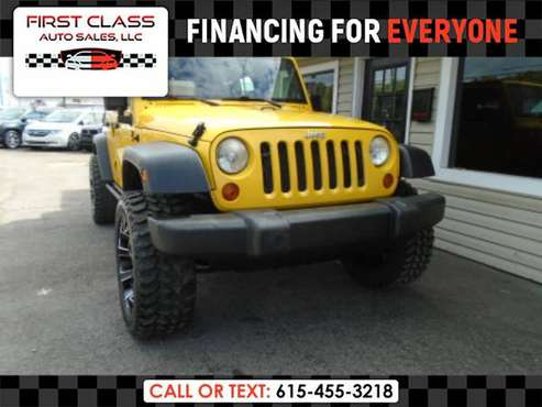 2007 Jeep Wrangler X - $0 DOWN? BAD CREDIT? WE FINANCE! for sale in Goodlettsville, TN