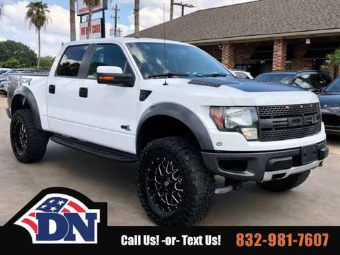 2012 Ford F-150 Truck F150 4WD SuperCrew 145 SVT Raptor Ford F 150 for sale in Houston, TX