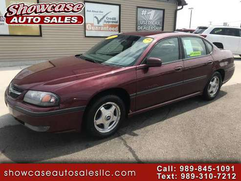 PRICE DROP! 2002 Chevrolet Impala 4dr Sdn LS for sale in Chesaning, MI