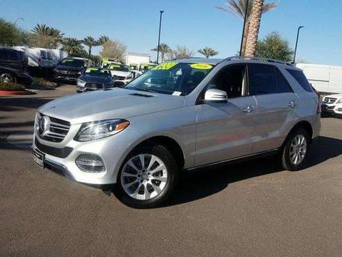 2016 *Mercedes-Benz* *GLE* *4MATIC 4dr GLE 300d* Sil for sale in Gilbert, AZ