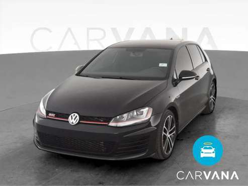 2017 VW Volkswagen Golf GTI Sport Hatchback Sedan 4D sedan Black - -... for sale in San Antonio, TX
