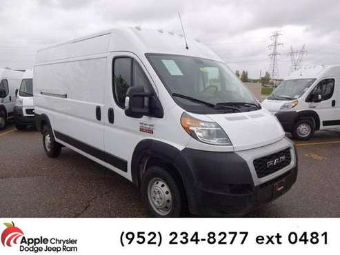 2019 Ram ProMaster 2500 van High Roof (Bright White Clearcoat) for sale in Shakopee, MN