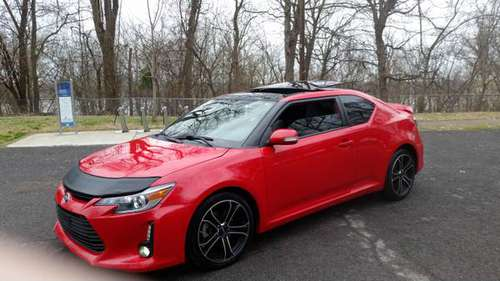 2014 Scion tC Red FWD for sale in Henderson, IN