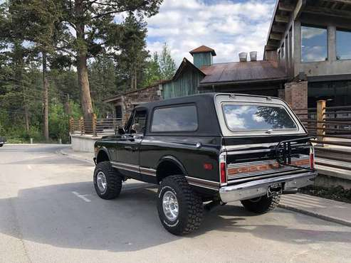 1972 Chevy Blazer CST for sale in Columbia Falls, MT