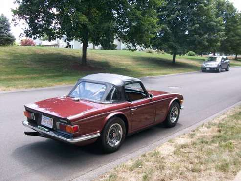 1970 TRIUMPH TR6 61000 MILES for sale in HOLYOKE MASS., MA