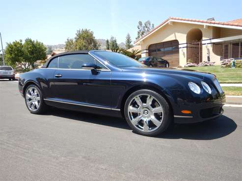 2007 Bentley Continental GTC for sale in Woodland Hills, CA