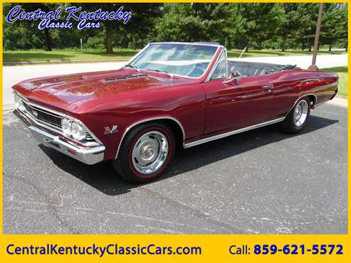 1966 Chevrolet Chevelle for sale in Paris , KY