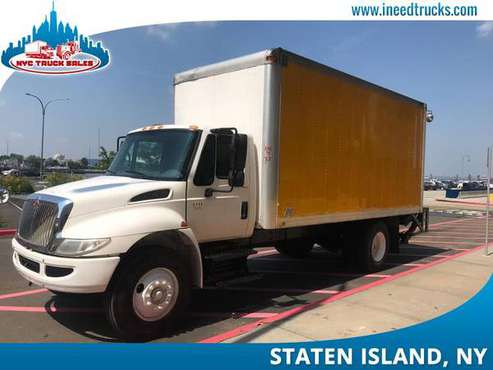 2005 INTERNATIONAL 4300 18' FEET NON CDL DIESEL BOX TRUCK LIF-brooklyn for sale in STATEN ISLAND, NY