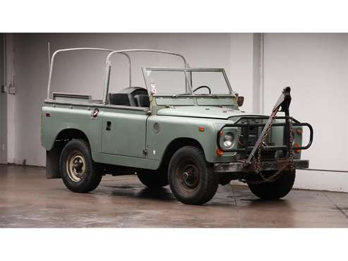 1969 Land Rover Series IIA for sale in Corpus Christi, TX