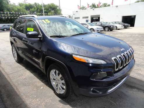 2015 JEEP CHEROKEE LIMITED for sale in Roseville, MI