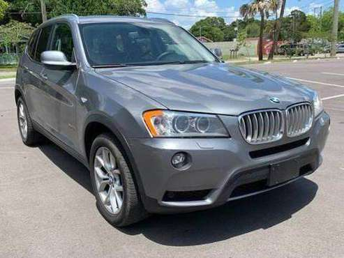 2012 BMW X3 xDrive35i AWD 4dr SUV 100% CREDIT APPROVAL! for sale in TAMPA, FL