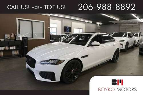 *2017* *Jaguar* *XF* * S Sedan 4D* for sale in Federal Way, WA