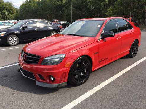 2009 Mercedes-Benz C-Class 6.3L AMG clean title/cln car fax-NICE!!!!! for sale in dalton, TN
