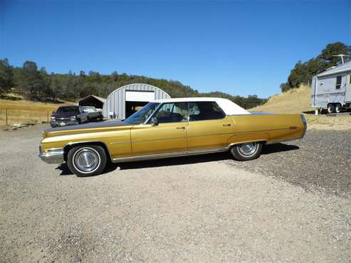 1971 Cadillac DeVille for sale in Lower Lake, CA
