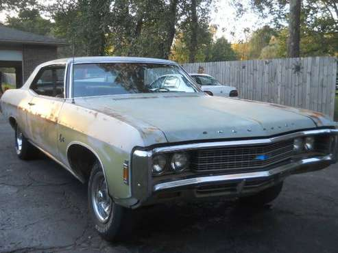 1969 CHEVY IMPALA SPORTS COUPE for sale in Uniontown, PA