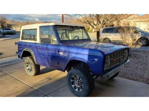 1968 Ford Bronco for sale in Cadillac, MI
