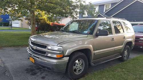 **FURTHER REDUCED** 2001 4x4 Tahoe LT with front and rear dash cam for sale in Rochester , NY