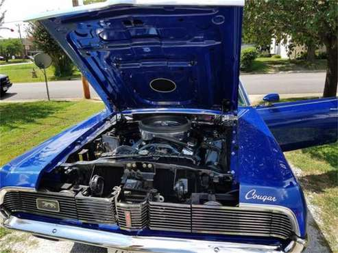1969 Mercury Cougar for sale in Cadillac, MI