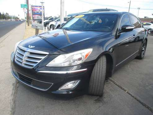 2012 HYUNDAI GENESIS for sale in CERES, CA