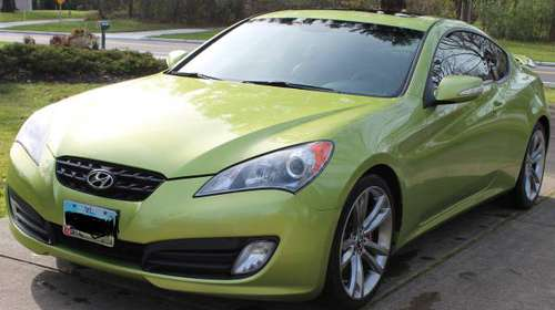 Hyundai Genesis Coupe 3.8 Track - cars & trucks - by owner - vehicle... for sale in Cleveland, OH