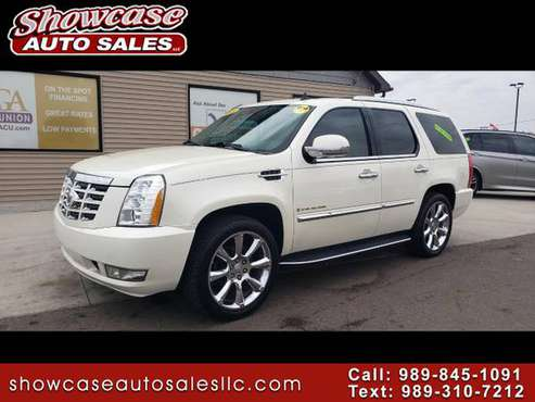 SWEET!! 2008 Cadillac Escalade AWD 4dr for sale in Chesaning, MI