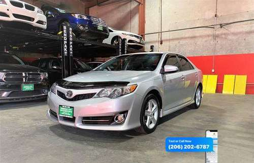 2012 Toyota Camry SE Sedan 4D - cars & trucks - by dealer - vehicle... for sale in Seattle, WA