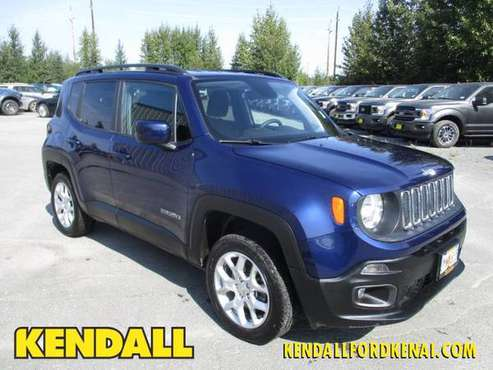 2018 Jeep Renegade Jetset Blue FOR SALE - GREAT PRICE!! for sale in Soldotna, AK
