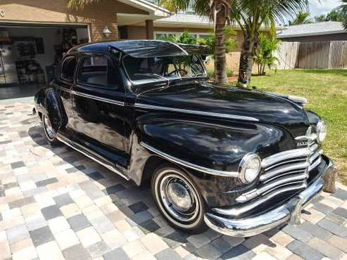 1948 Plymouth Coupe Super Deluxe for sale in Satellite Beach, FL