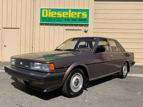 1985 Toyota Cressida 2.8L Inline 6-Cyl Luxury Sedan Mint Condition for sale in Sacramento , CA
