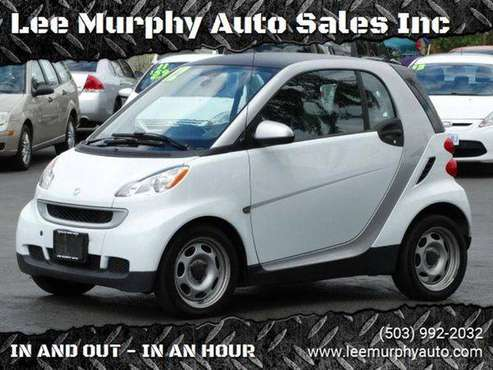 2012 Smart fortwo passion 2dr Hatchback for sale in Cornelius, OR