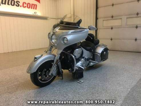 2017 Indian Chieftain Repairable Misc Scratches for sale in Strasburg, ND