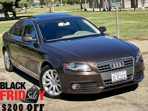 2011 Audi A4 Premium Plus | Navigation | Camera | Sunroof | Teak... for sale in Van Nuys, CA