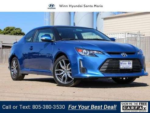 2015 Scion tC coupe Blue for sale in Santa Maria, CA