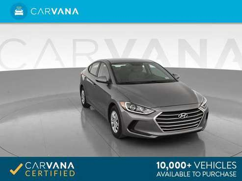 2017 Hyundai Elantra SE Sedan 4D sedan Gray - FINANCE ONLINE for sale in Arlington, VA