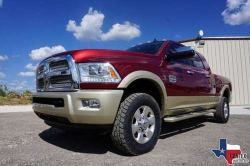 2014 Dodge Ram 2500 CUMMINS DIESEL LONGHORN 4X4 MEGA CAB for sale in Dripping Springs, TX