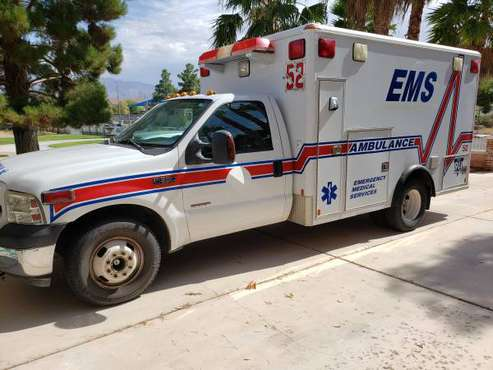 2007 Ford F350 Ambulance for sale in Las Vegas, NV
