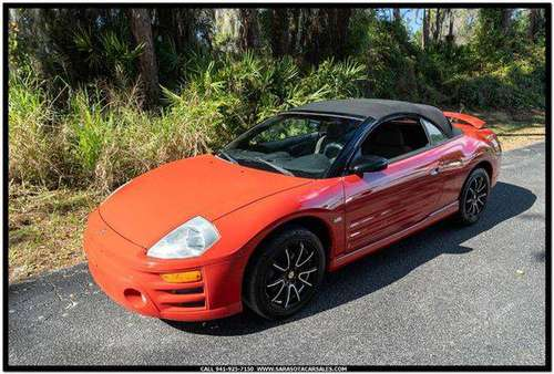 2003 Mitsubishi Eclipse Spyder GT 2dr Convertible - CALL or TEXT... for sale in Sarasota, FL