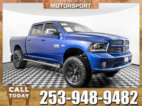 *750+ PICKUP TRUCKS* Lifted 2017 *Dodge Ram* 1500 Sport 4x4 for sale in PUYALLUP, WA