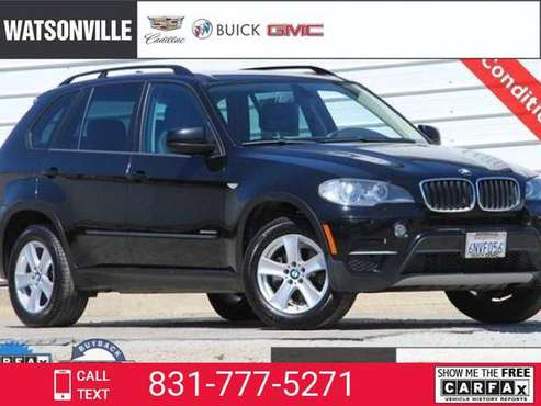 2011 BMW X5 35i AWD 4dr SUV suv Carbon Black Metallic for sale in Watsonville, CA