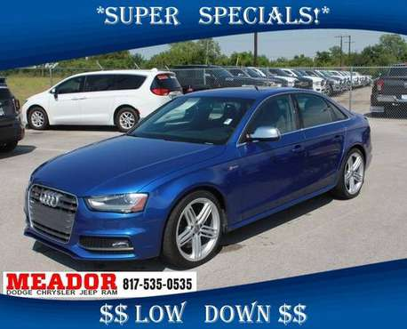 2015 Audi S4 3.0T Premium Plus - Ask About Our Special Pricing! for sale in Burleson, TX