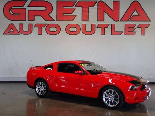 2011 Ford Mustang V6 2dr Fastback, Red for sale in Gretna, IA