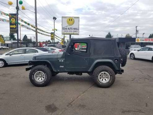 2002 Jeep Wrangler 2dr X for sale in Portland, OR