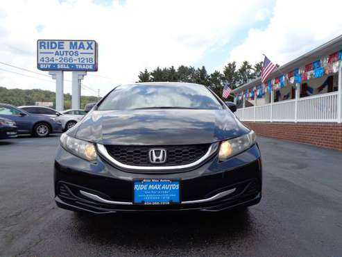 2013 Honda Civic One Owner Buck up Camera Mint Condition for sale in Lynchburg, VA