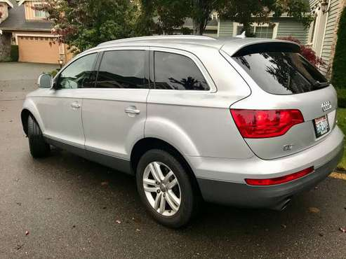 2007 Silver Metallic Audi Q7 Prestige AWD for sale in Redmond, WA