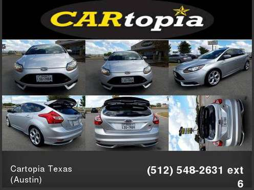 2014 Ford Focus 4d Hatchback ST CALL FOR DETAILS AND PRICING for sale in Kyle, TX