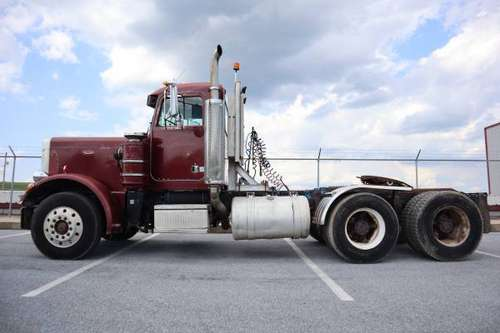 1986 Peterbilt 359 662,846 miles, Air Ride, 10 Speed, Big Cam Cummins for sale in Richland, PA